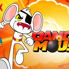 Danger Mouse launches on Netflix  #streamteam