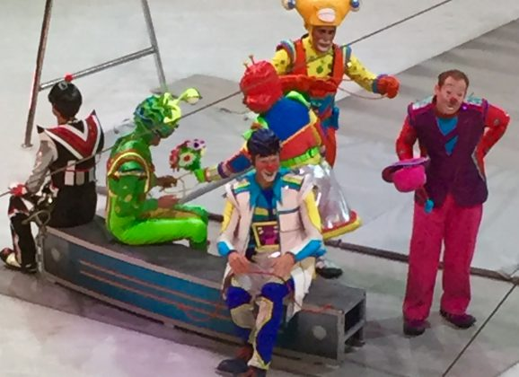 Joined the Ringling Bros. for an Out of This World day!