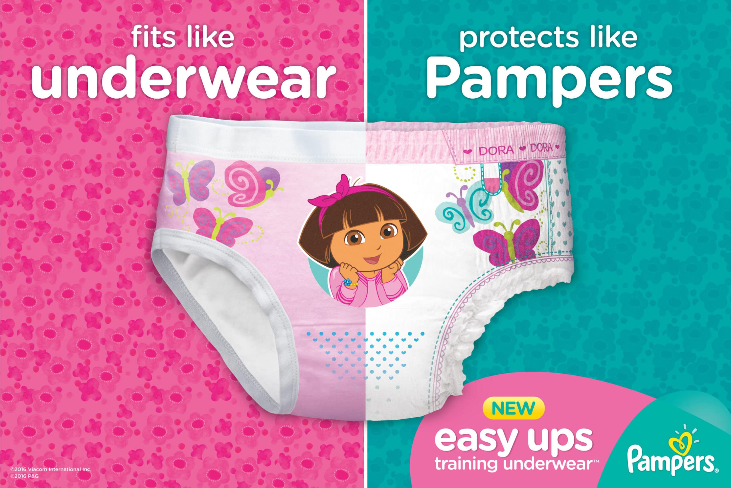Starting to potty train with Pampers Easy Up Underware #pamperseasyup