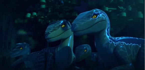 LEGO Jurassic World roars on to YouTube #JurassicWorldLego