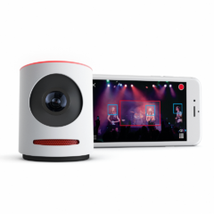 Stream it live with Mevo