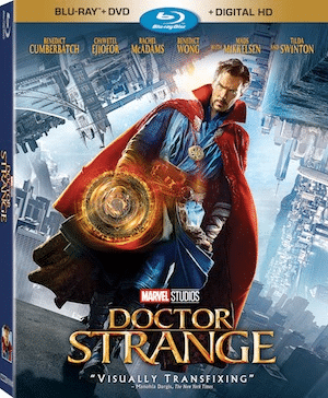 Doctor Strange comes to your home Blu-Ray, DVD, Digital HD