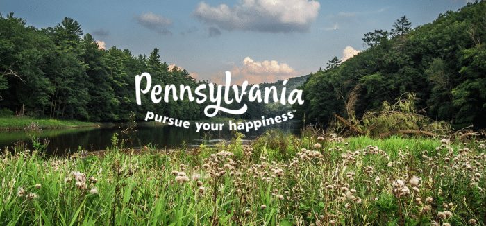 Our road trip adventure of Pennsylvania begins now