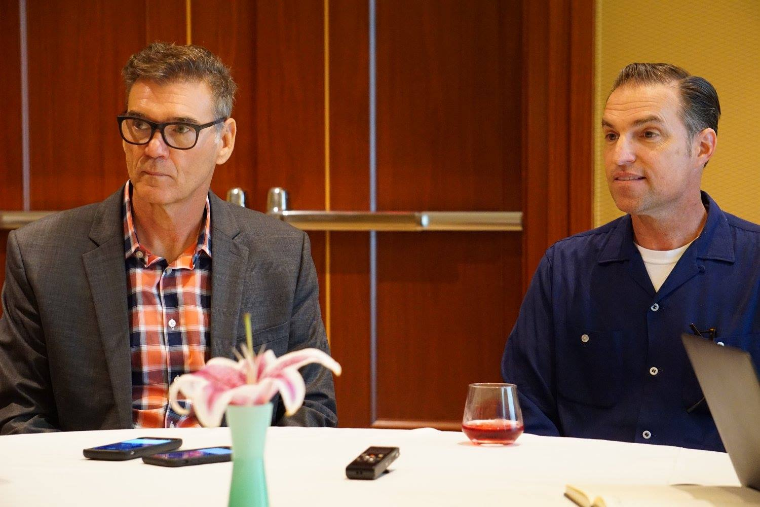 Interview with Disney PIXAR CARS 3 Creative Director Jay Ward, and actor Ray Evernham