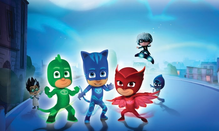 PJ Masks Live!: Time To Be A Hero flies into the Theater at MSG