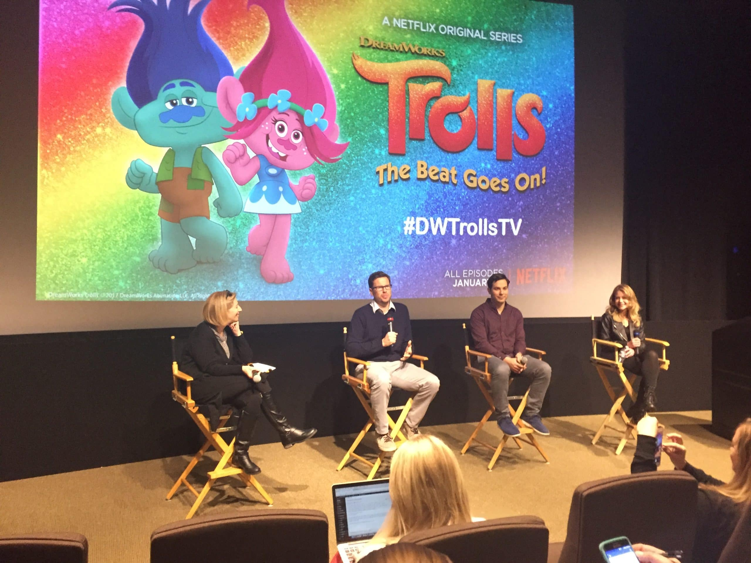 TROLLS THE BEAT GOES ON: LIVE Q&A
