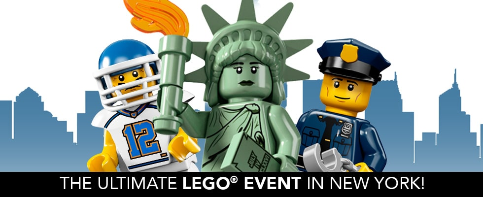LEGO LIVE is coming to NYC February 16-18