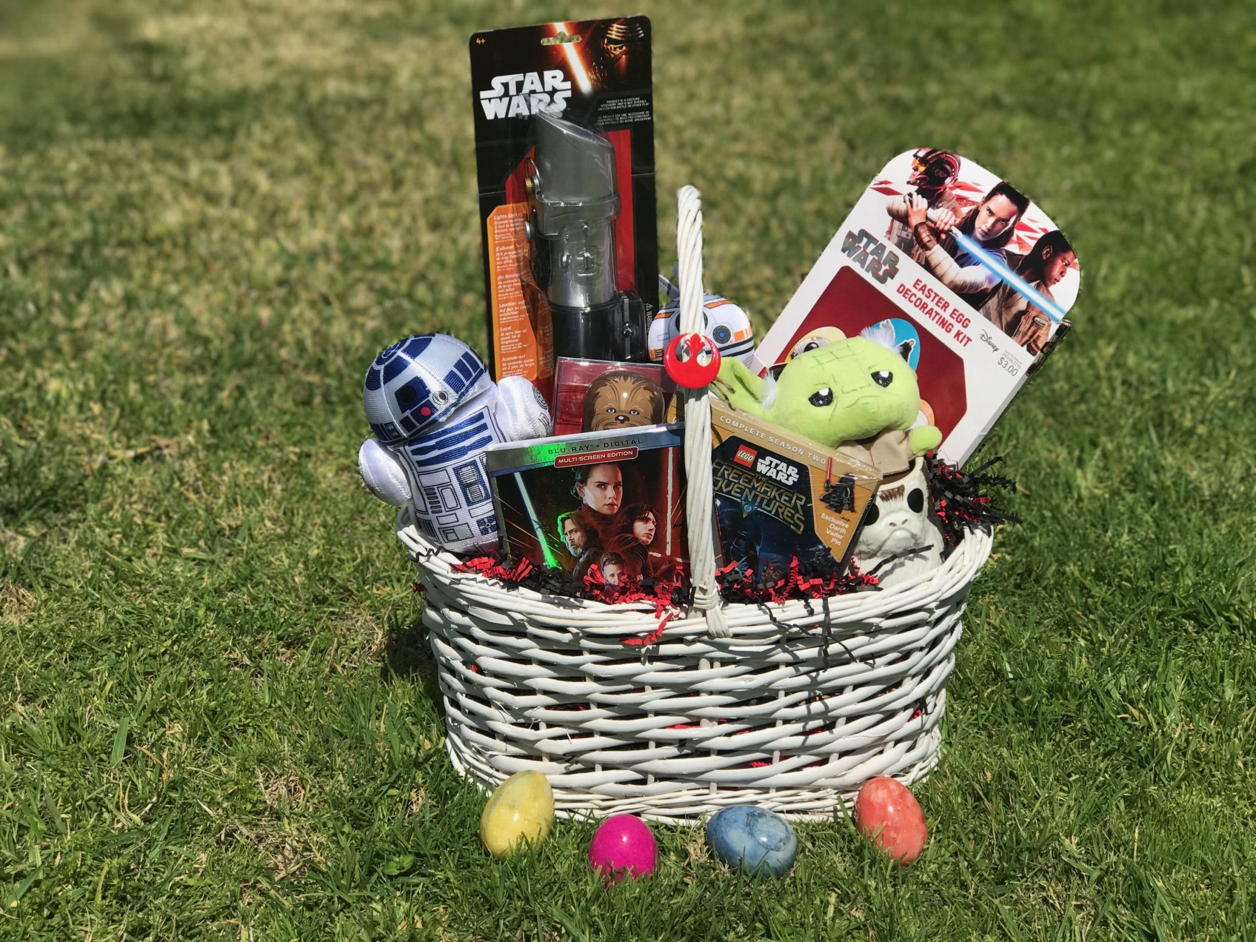 Enter to win a Star Wars Easter basket!