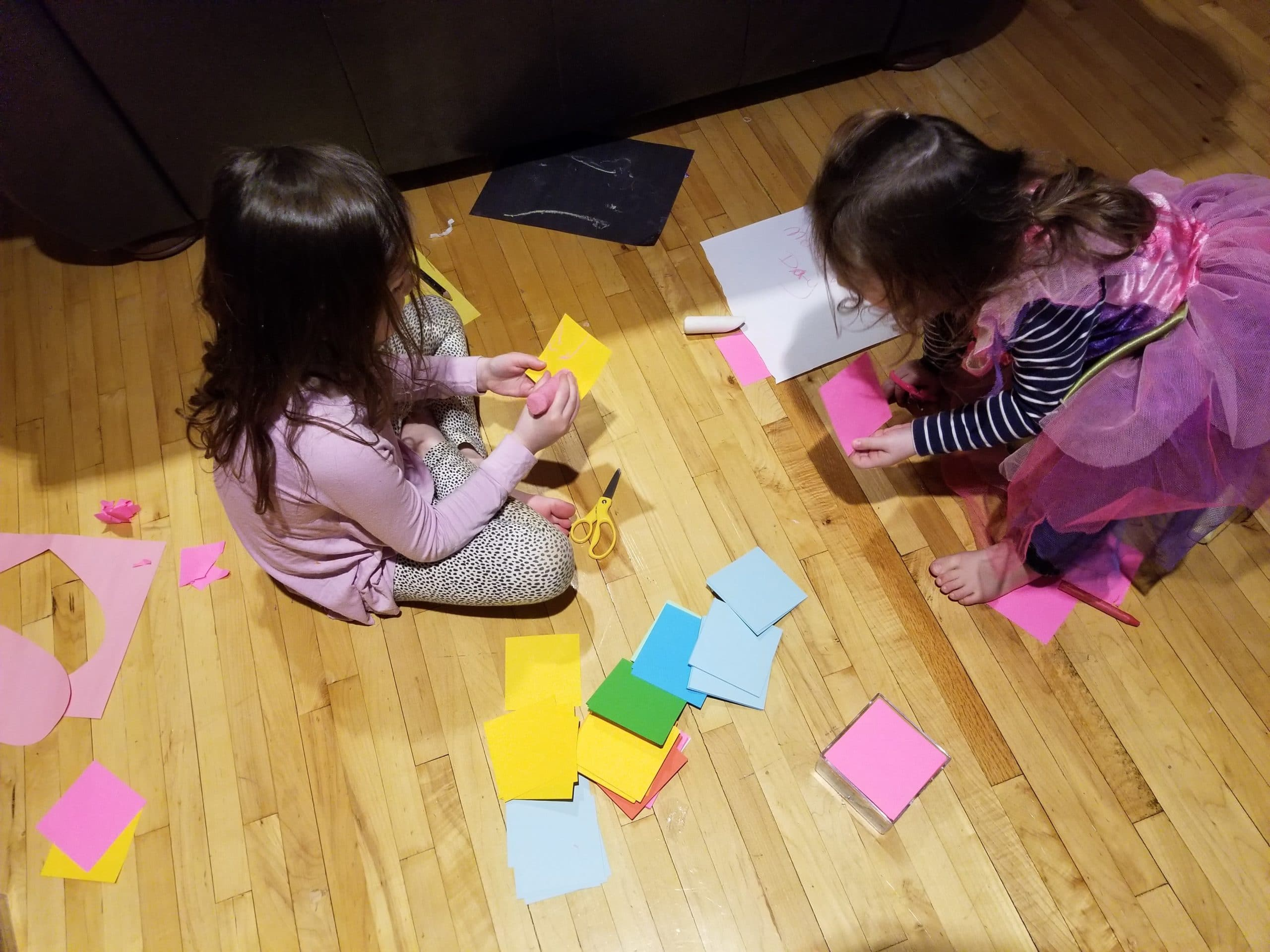 Creating paper Memories for mom #HowLifeUnfolds