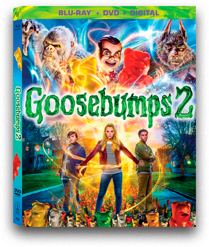 Goosebumps 2 scares up some fun at home