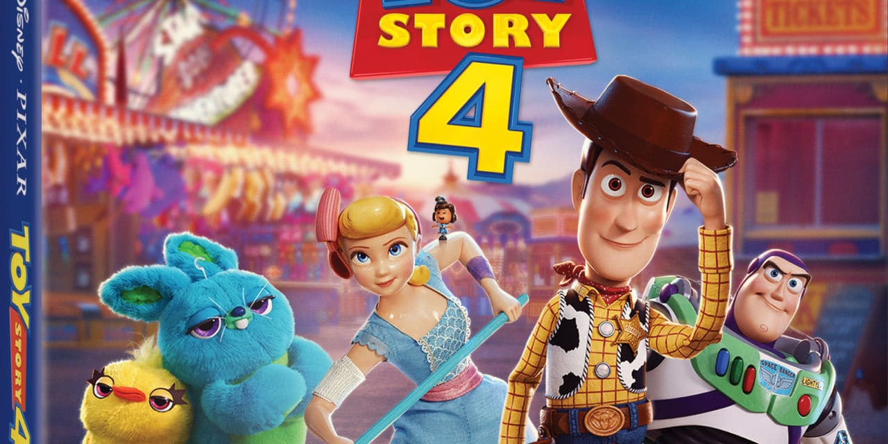 Disney and Pixar's Toy Story 4 out now on Blu-Ray/DVD/Digital HD