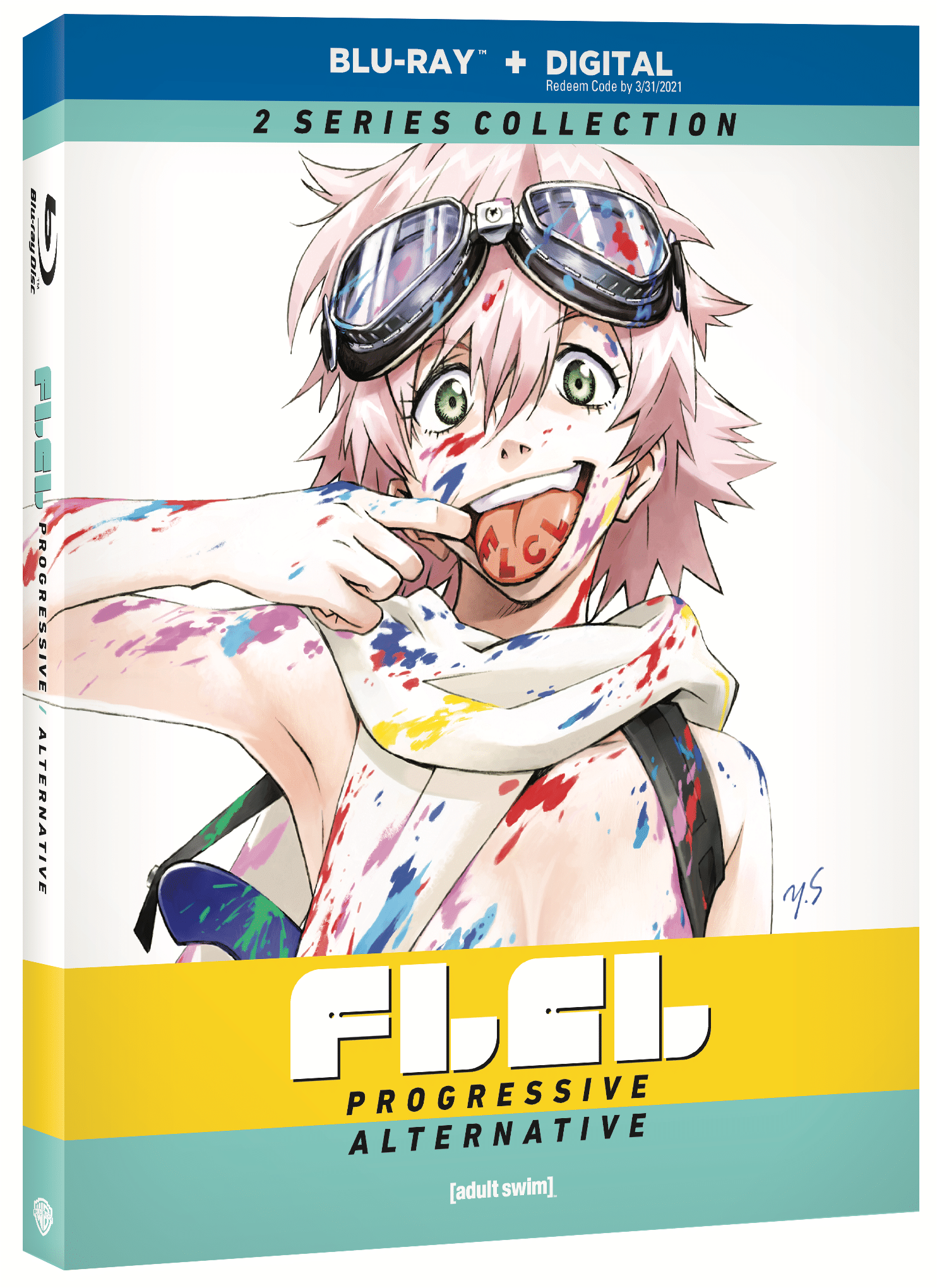 FLCL: PROGRESSIVE & ALTERNATIVE COMBO PACK – comes home to Blu-Ray/DVD