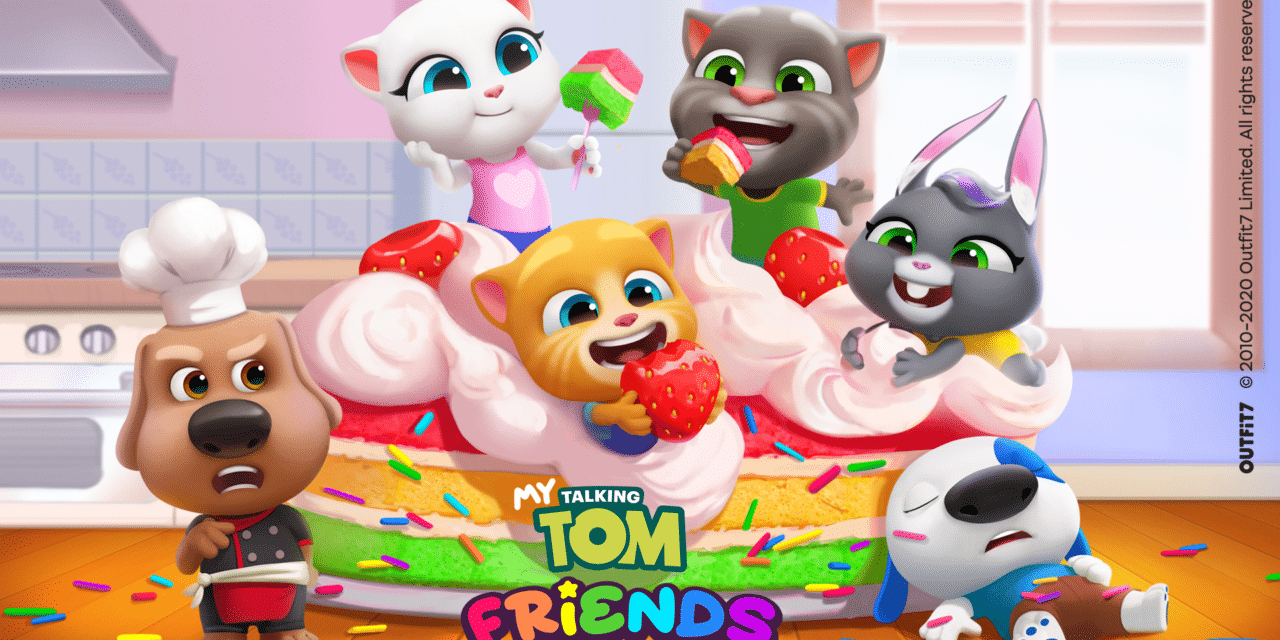 My Talking Tom Friends offers a new interactive adventure for the whole family